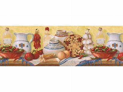 Kitchen Border Borders Wall Paper Prepasted