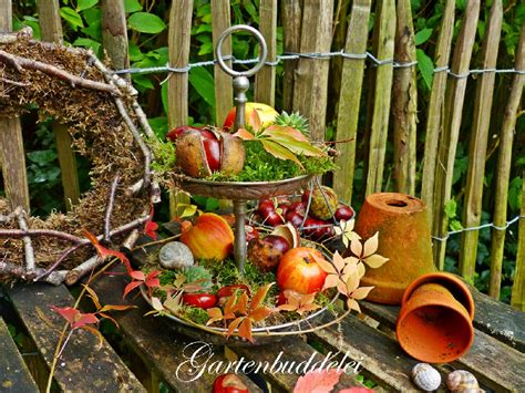 Herbst Garten Deko by Herbstdeko Ideen Kreativ Bunt Den Garten Dekorieren