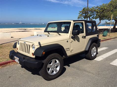 Jeep Wrangler Rentals In Honolulu