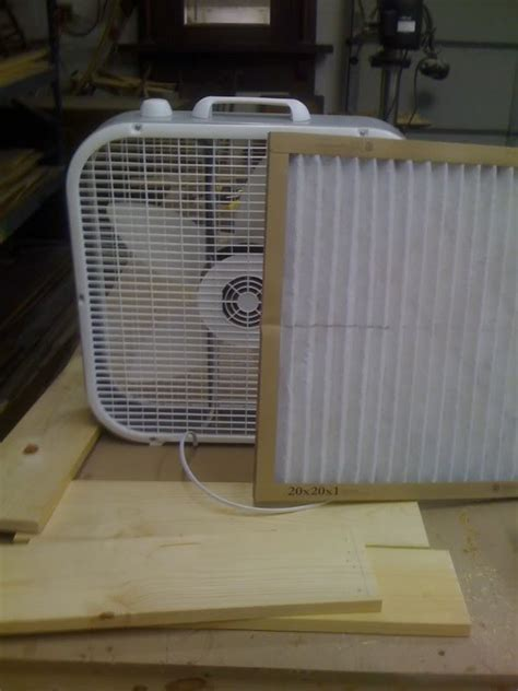 woodshop air filtration   build  amazing diy