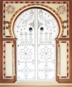 Tableau Porte Orientale : tableau porte tunisienne d coration ~ Teatrodelosmanantiales.com Idées de Décoration