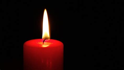 single red candle   dark stock footage video