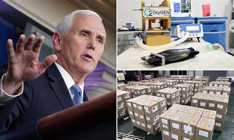 Pence's coronavirus taskforce suspends overseas shipments ...