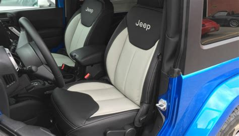 leather interior   montreal jeep wrangler owner