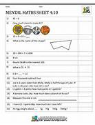 Year 4 Mental Maths Worksheets 10 Mental Maths Activities Year 4 Maths Worksheets For Kids ARC Worksheet Mental Maths Practise Year 5 Worksheets
