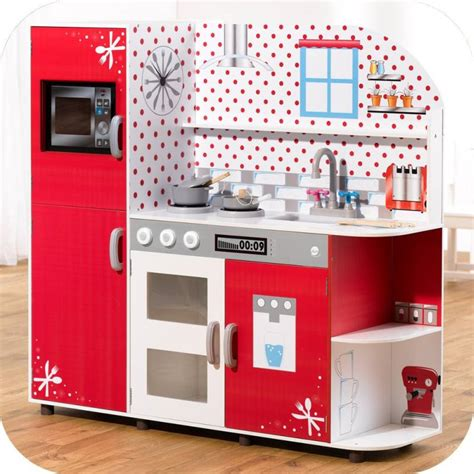 Plum Kids Wooden Red Play Kitchen & Accessories  Buy Play