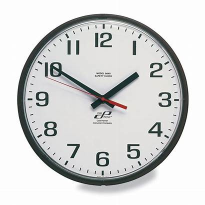 Clock Battery Operated Wall Analog Face Outdoor