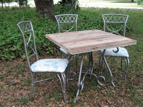 patio table top ideas pallet wood top re newed patio table pallet ideas
