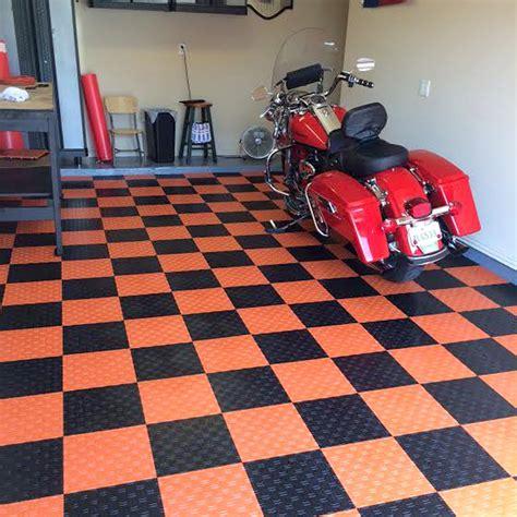 garage flooring tiles grid loc tiles snap together garage floor tiles