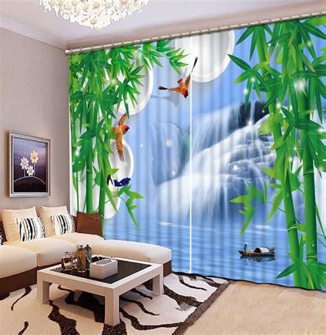 Fashion 3d Home Decor Photo Customize Size Waterfall
