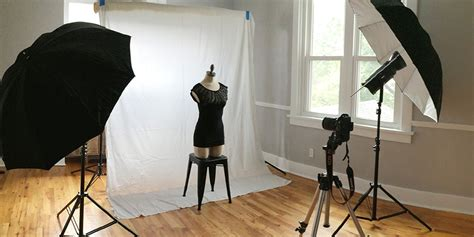 guide  lighting setups  apparel product photography