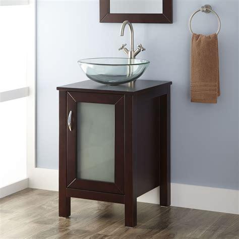 massey vanity cabinet  vessel sink