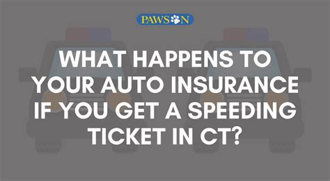 What Happens To Your Auto Insurance If You Get A Speeding