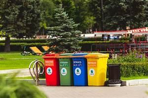 Assorted, Color, Plastic, Trash, Bins, U00b7, Free, Stock, Photo