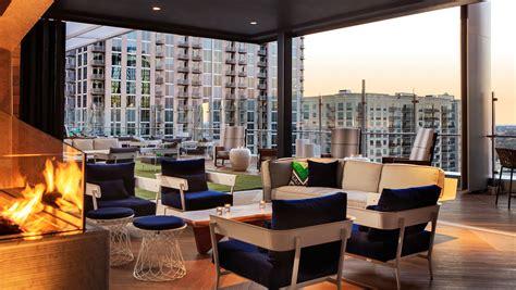 rooftop bar charlotte nc kimpton tryon park hotel