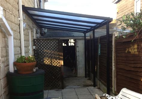 Case Study  Domestic Garden Canopy Installation