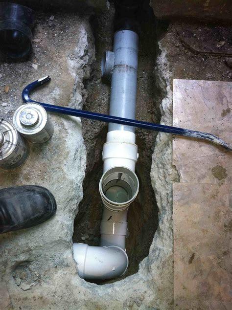 Basement Drain Repair DrainRooter Plumbing Bamboo Flooring
