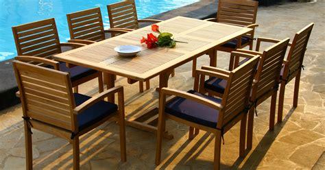 teak outdoor furniture indonesia home garden beach
