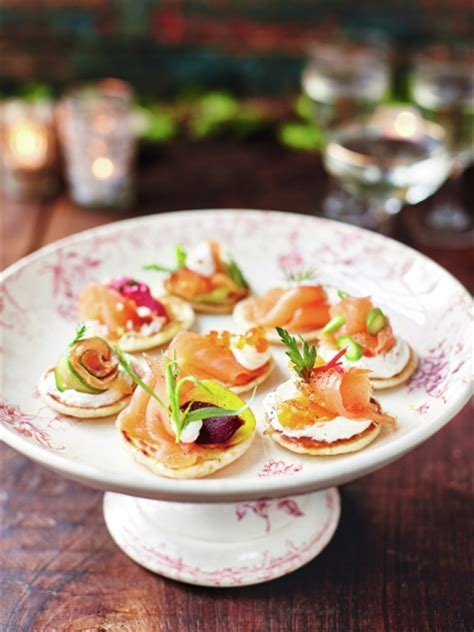 posh canapes recipes easy cold food stunning alacarte catering likes