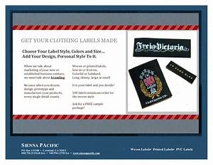How to get clothing labels made for Get clothing labels made