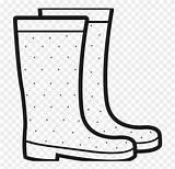 Rainboots Stivali Wellington Pinclipart Ultracoloringpages Regenstiefel Chuva Clipartxtras Wellies Netclipart Megnyitás Laarsen sketch template