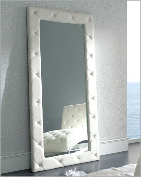 white floor mirror sevilla  modern style   spain