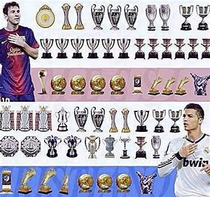 Cristiano vs Messi All time trophies - Football - Sport.net