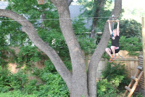 Zipline For Backyard backyard zip line for 171 the trailhead