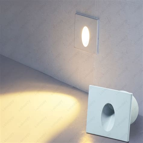 3w dimmable n led wall light fixture corner steps stair spot l junction box in led spotlights