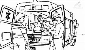 emergency coloring pages - kleurplaat ambulance