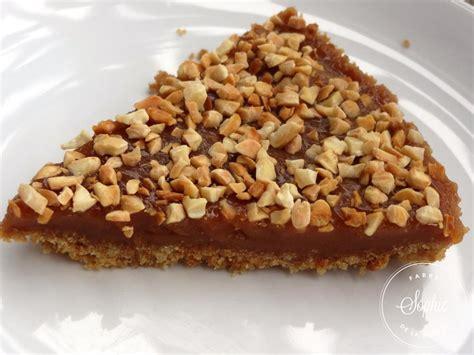 recette cuisine sans four tarte au caramel et aux amandes sans four la tendresse