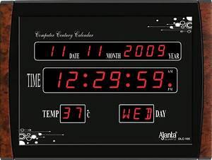 Ajanta LED Digital Wall Clock - OLC-105