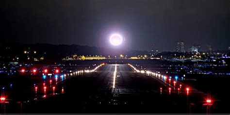light emitting diodes airport technology