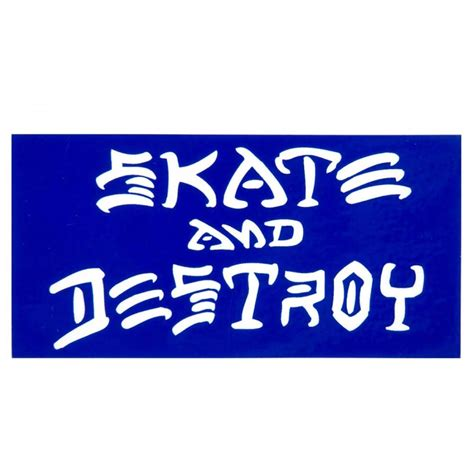 Thrasher Skate And Destroy Sticker 325″ X 625″. Itchy Signs. Palm Trees Decals. Hardened Signs. Apple Tree Murals. Boys Wall Decals. Luluco Stickers. Hiring Banners. Posters Signs Of Stroke