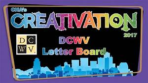 dcwv letter board creativation 2017 crafts by two With dcwv letter board icons