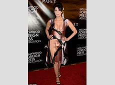 Sarah Silverman displays extreme cleavage in a perilously