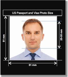 us passport and visa photo size and requirements With requirements for us passport photo