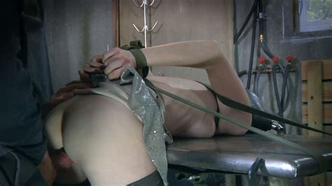 Orgasm Craving Nympho Gets Brutally Fucked By Her Bondage