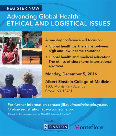 advancing global health ethical logistical issues