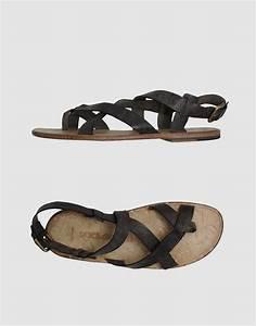 Dolce & Gabbana Sandals in Gray for Men (steel) | Lyst