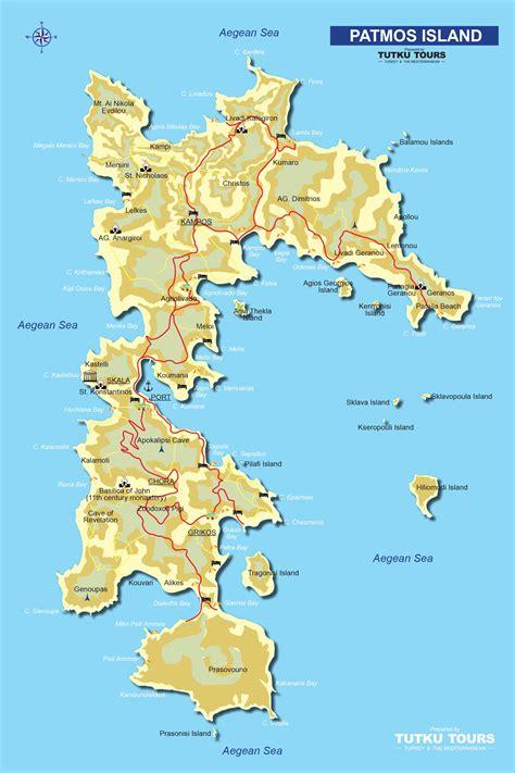 tutku tours greece maps