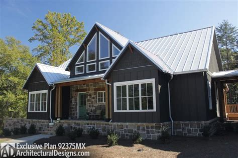 Plan 92375MX: Mountain Cottage with Amazing Outdoor Spaces