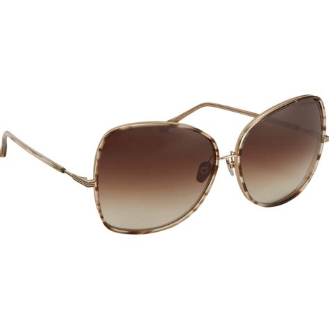 butterfly shape sunglasses dita bluebird two sunglasses in gray lyst