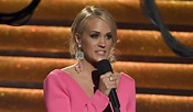 Carrie Underwood says her face 'not quite looking the same ...
