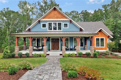 Many of these big and small home designs boast photos, open the craftsman house plan is one of the most popular home designs on the market. Craftsman House Plans - Architectural Designs