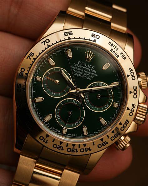 Rolex Cosmograph Daytona 116508 Green Dial 18k Yellow Gold ...