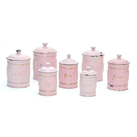 antique canisters kitchen canisters set of 7 kitchen canister sets