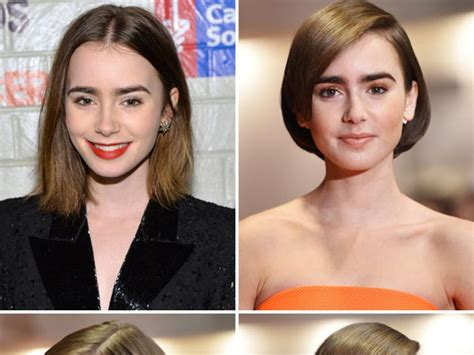 Lily Collins' Haircut — Shows New Makeover Love Or Loathe