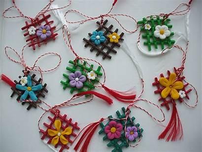 Martisoare Handmade Crafts Mărțișoare Romania Martie Diy