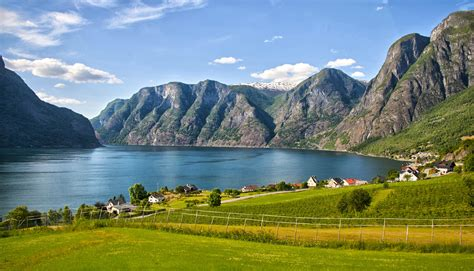 Fjord One by Geirangerfjord One Of The Prettiest Sights In Norway